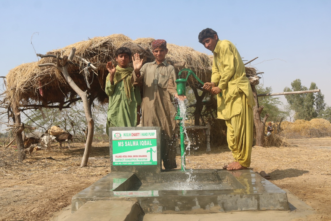 Water Pump Donation
