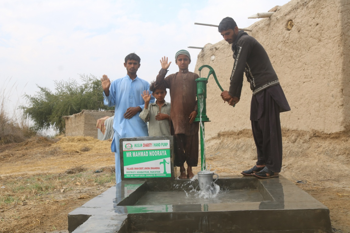 Water Hand Pump Charity