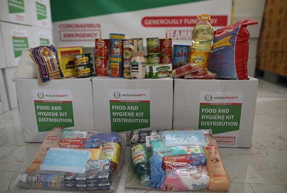 Food and Hygiene Kit Distribution