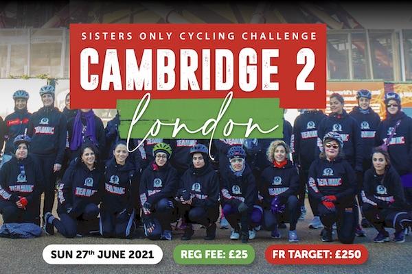 Muslim Charity Cambridge to London Cycling Challenge