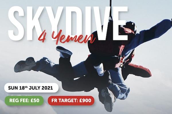 Muslim Charity Skydive For Yemen Event