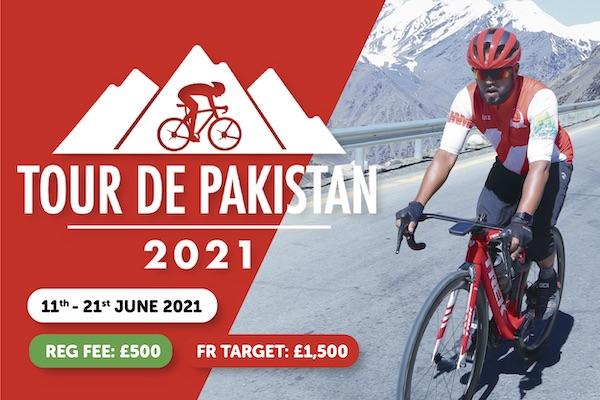 Muslim Charity Tour De Pakistan Cycling Event