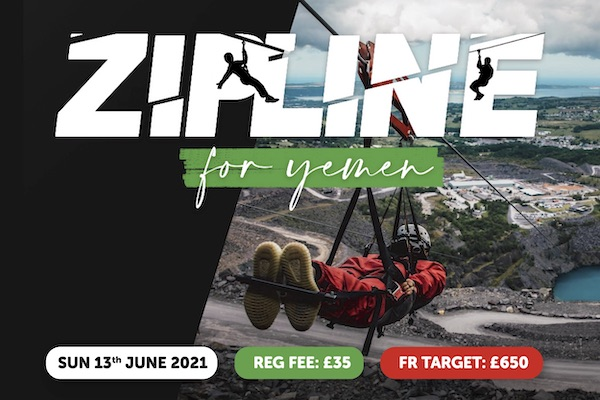 Muslim Charity Zipline for Yemen Event