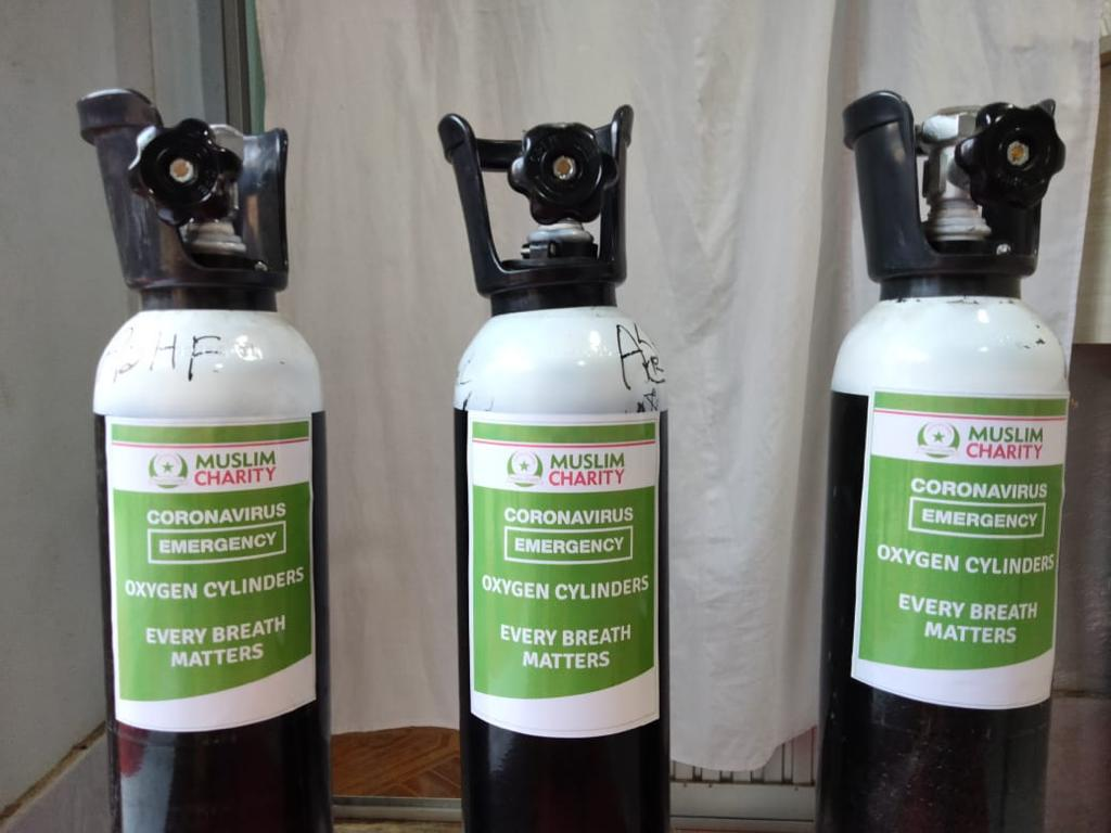 Oxygen Cylinders 2